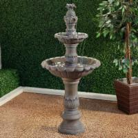 BluWorld FeatherCast 2-Tier Piazza Outdoor Fountain
