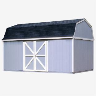 Handy Home Berkley Storage Shed - 10 x 18 ft.