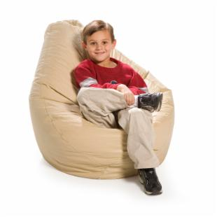 Medium Vinyl Caravan Teardrop Bean Bag Chair