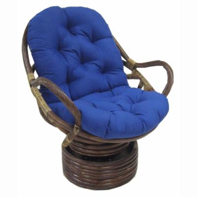 Blazing Needles 48 x 24 Swivel Rocker Cushion