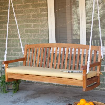 Blazing Needles Outdoor Standard 5 ft. Patio Bench Cushion