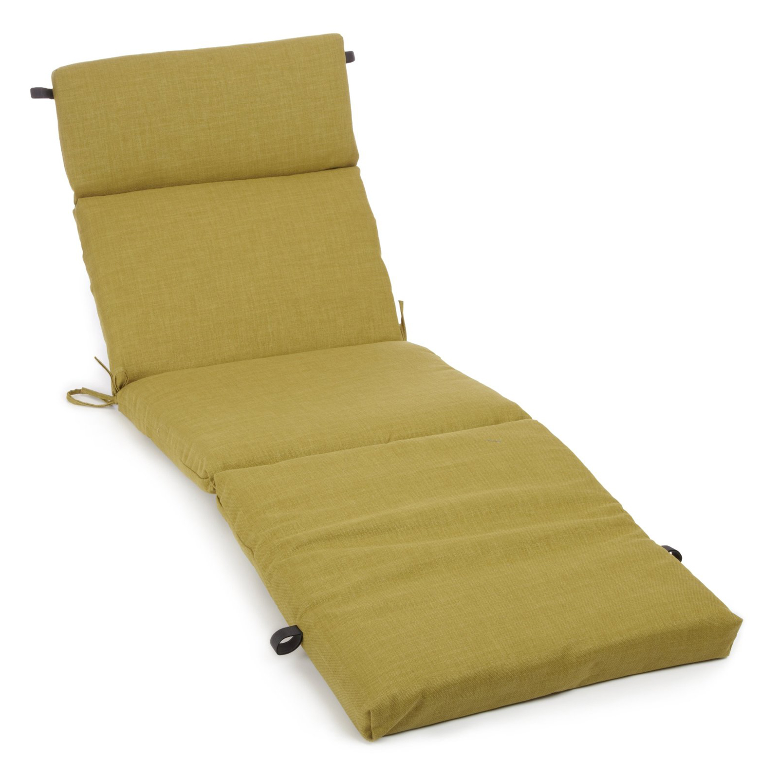 Blazing needles 72 x 24 in 3 sectioned all weather for Chaise lounge cushion covers outdoor