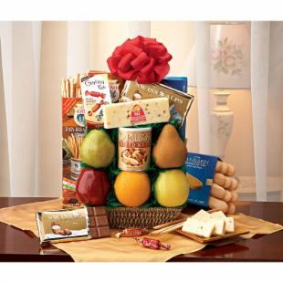 Farmer&#39;s Market Fruit Gift Basket