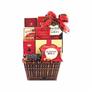 Snacks N Sweets Gift Basket