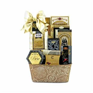 High Society Gourmet Gift Basket