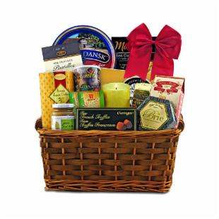 Deepest Sympathy Gift Basket