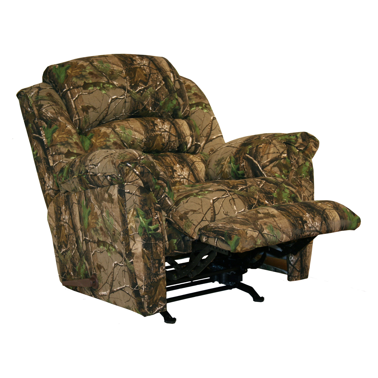 Catnapper cloud nine mossy oak camouflage chaise rocker for Camo chaise lounge