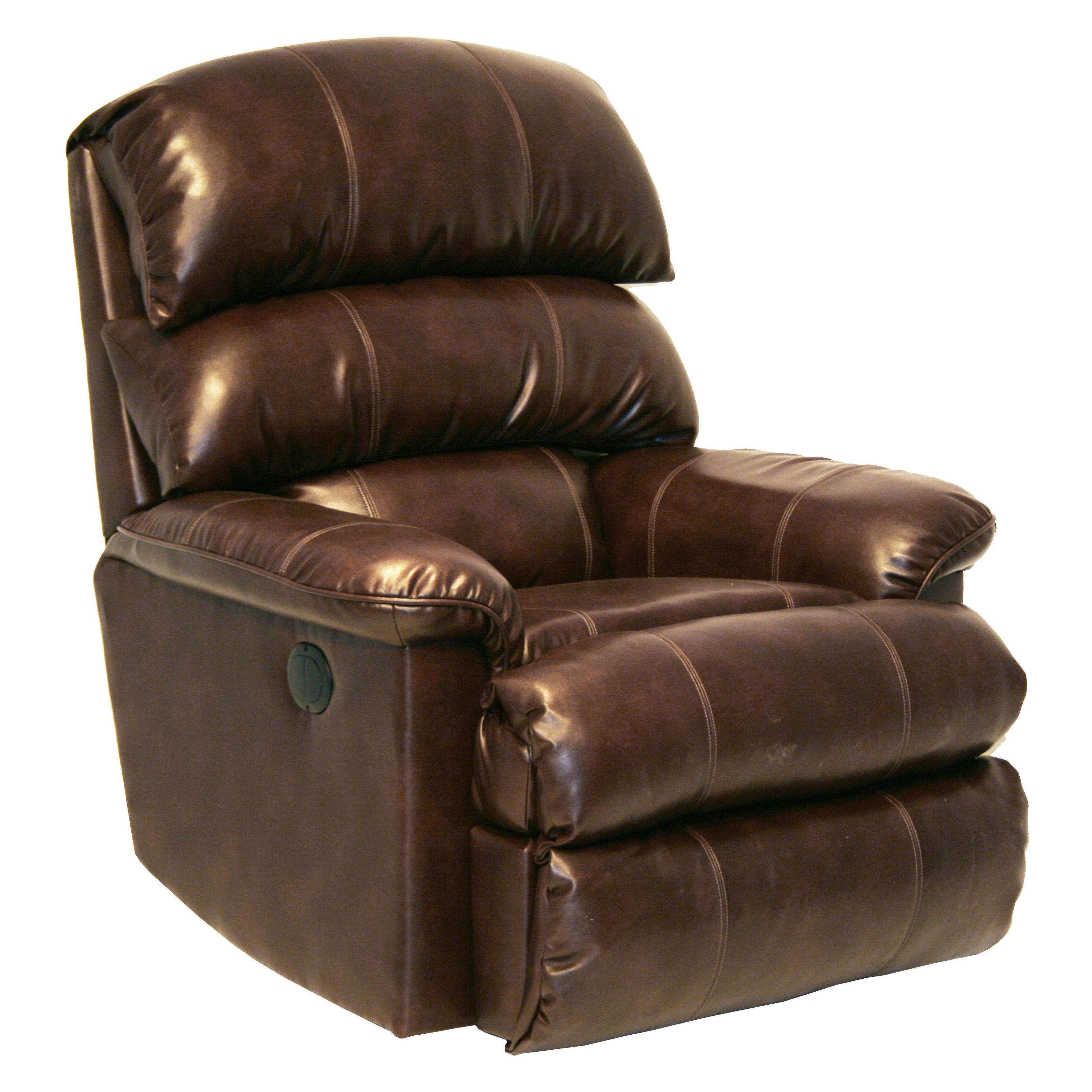 Catnapper Templeton Leather Wall Hugger Recliner