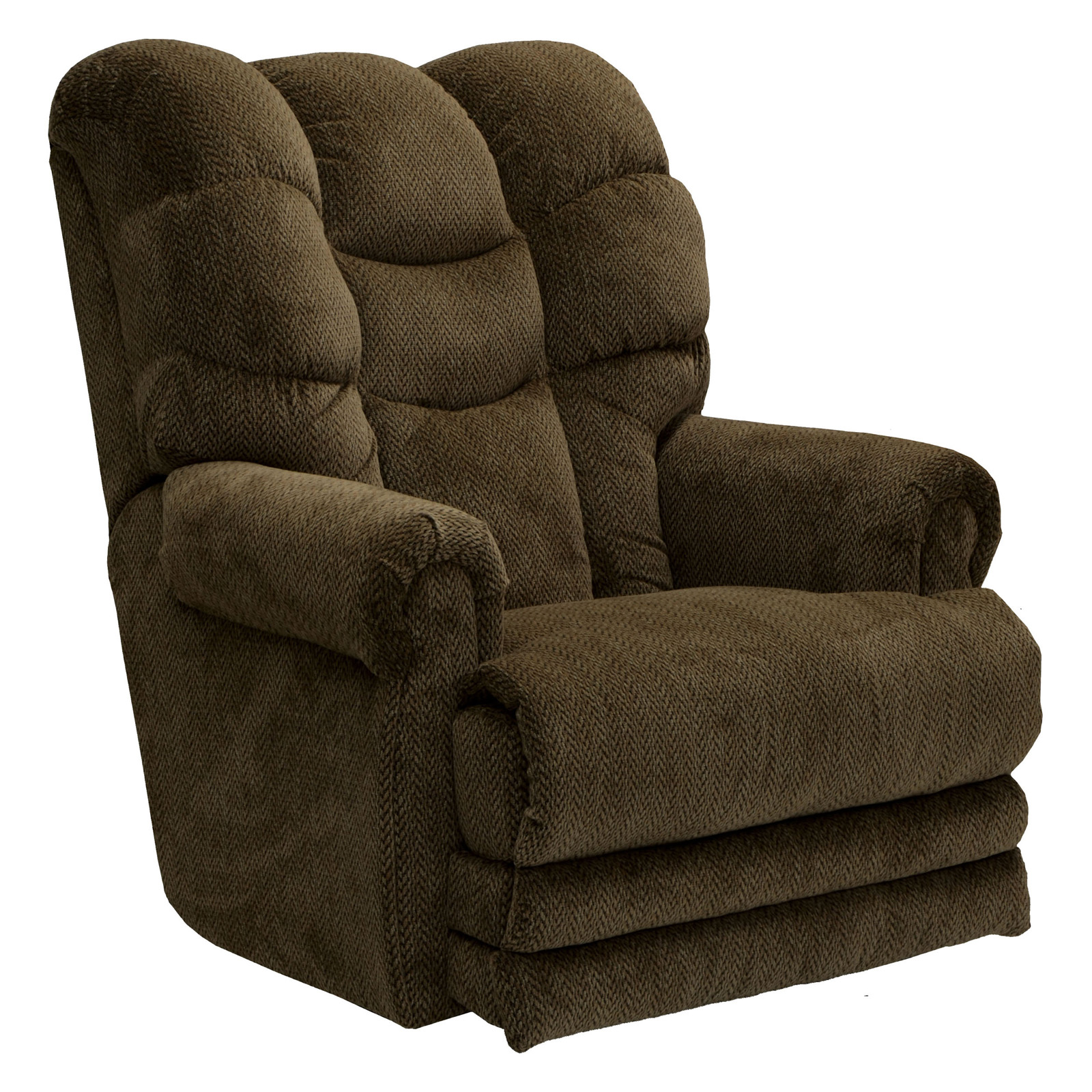 Catnapper Malone Fabric Oversized Power Lay Flat Recliner