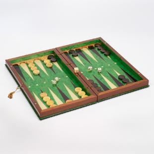 19in Sorento II Backgammon Set