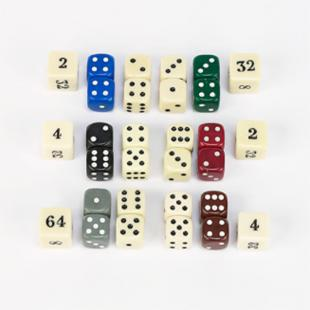 Backgammon Dice - 5/8-Inch