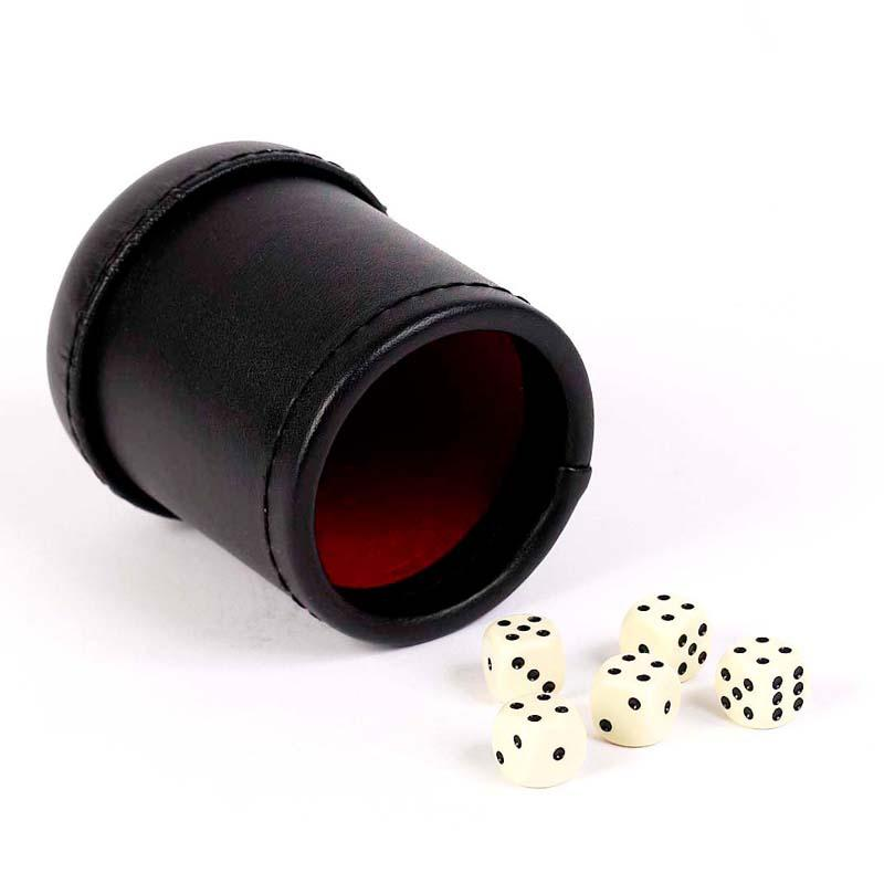 Professional Bar Dice Cup with 5 Dice CB169-1