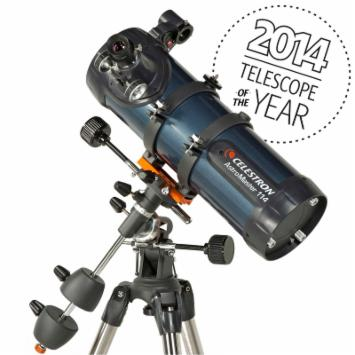  Celestron AstroMaster 114 EQ Reflector Telescope