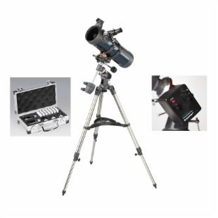 Celestron Astromaster 114 EQ Reflector Telescope Bundle