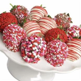 Incredible Valentine&#39;s Day&#39;s Chocolate Covered Strawberries