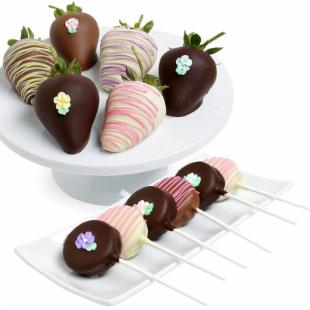 Mother&#39;s Day Berries with Gourmet Dipped Cookies