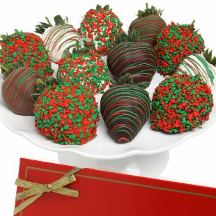 Incredible Berries Christmas Berries - Chocolate Covered Strawberries