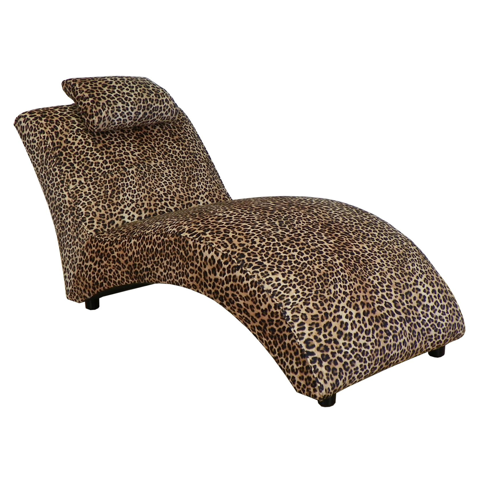 Leopard chaise lounge leopard chaise lounge leopard for Animal print chaise