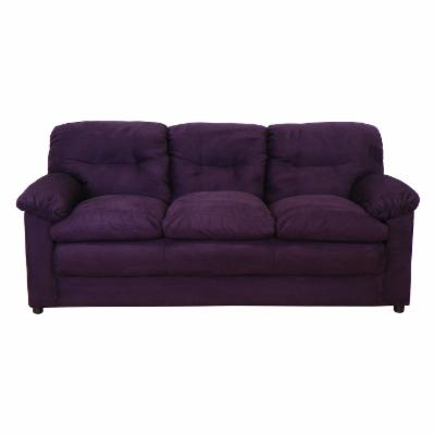 Chelsea 6300-S-BE Lisa Sofa - Bulldozer Eggplant