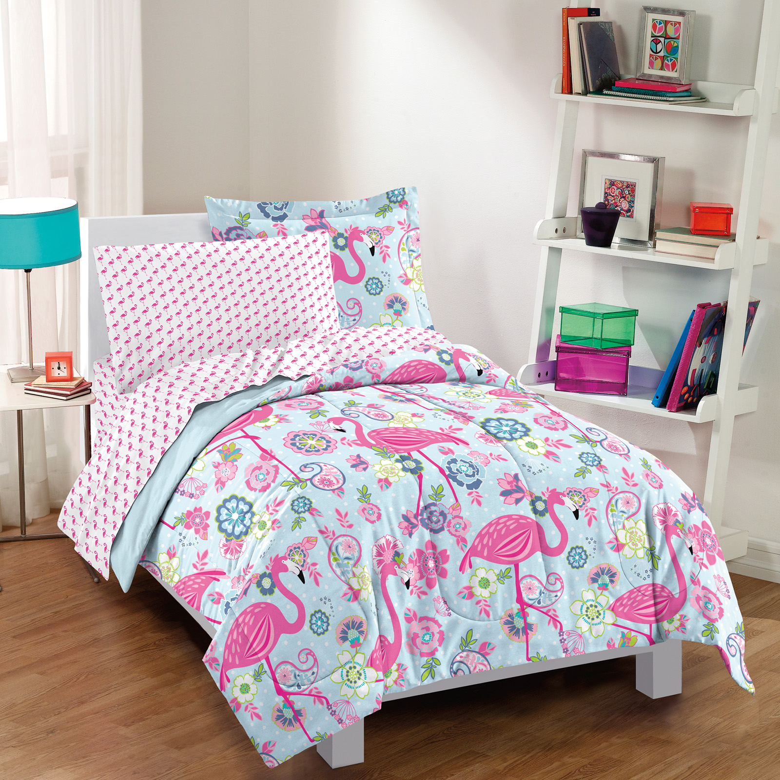 Flamingo Bed in a Bag Set by Dream Factory - Bedding and ...