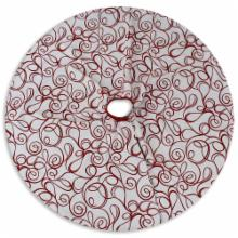  Joker Scarlet Reversible 51 in. Round Tree Skirt