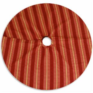 Soho Fuchsia Reversible 51 in. Round Tree Skirt