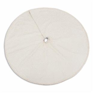 Chooty and Co. Mosaic Petal Blanc 51-in. Round Tree Skirt