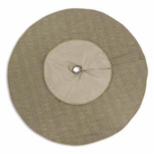 Chooty and Co. Mystic III Mocha 51-in. Round Tree Skirt