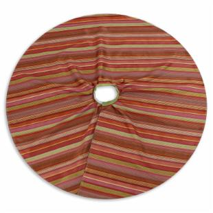 Chooty and Co. Ventura Fiesta / Passion Suede Reversible 51-in. Tree Skirt