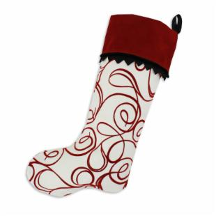Chooty and Co. Joker Scarlet / Ruby Stocking