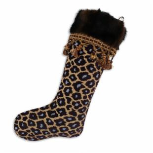 Chooty and Co. Simba Taupe / Taline Fur Stocking