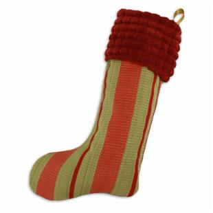 Chooty and Co. Soho Lime / Cloud 9 Roasted Pepper Stocking