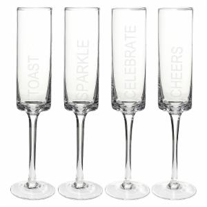 Cathys Concepts Celebrate! Cylinder Flutes - Set of 4
