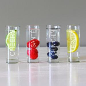 Cathy's Concepts Cheers Shooters - Set of 4