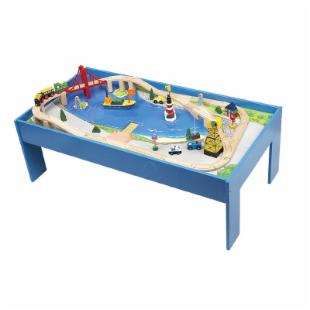 Ocean Train Table with Train Set