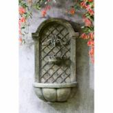  Tivoli Loire Wall Fountain - French Limestone