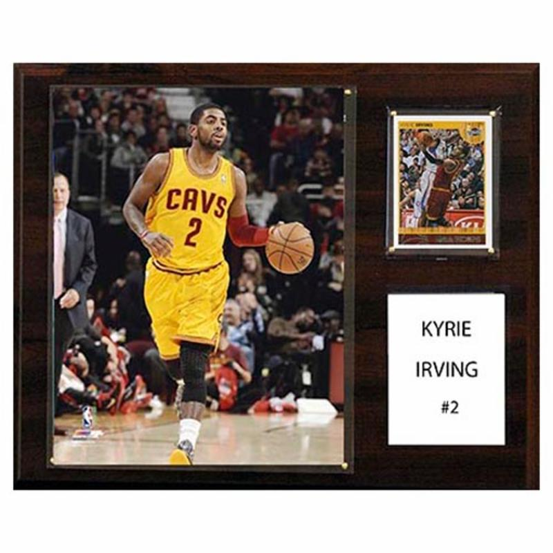 C and I Collectables NBA 15W x 12H in. Kyrie Irving Cleveland Cavaliers Player Plaque CICL1526-1