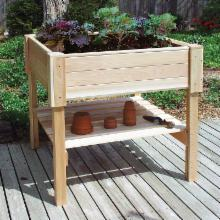  Cedar Creek Cedar Wood Raised Planter Box