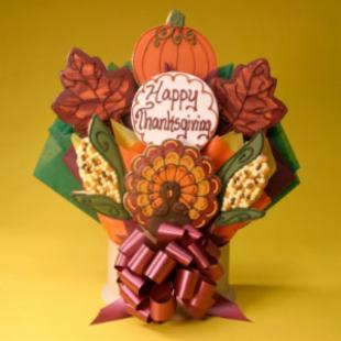 Corso's Cookies Happy Thanksgiving Cookie Bouquet