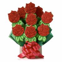 Corso's Cookies Red Roses Cookie Bouquet