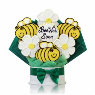 Corso&#39;s Cookies Bee Well Soon Cookie Bouquet