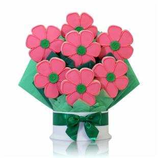 Corso's Cookies Flavorful Flowers Just Because Cookie Bouquet