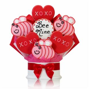 Corso's Cookies Bee Mine Cookie Bouquet