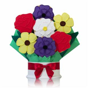 Corso&#39;s Cookies Wild Flowers Cookie Bouquet