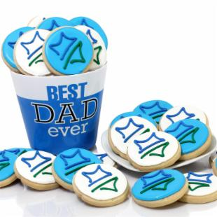 All Star Dad Cookies