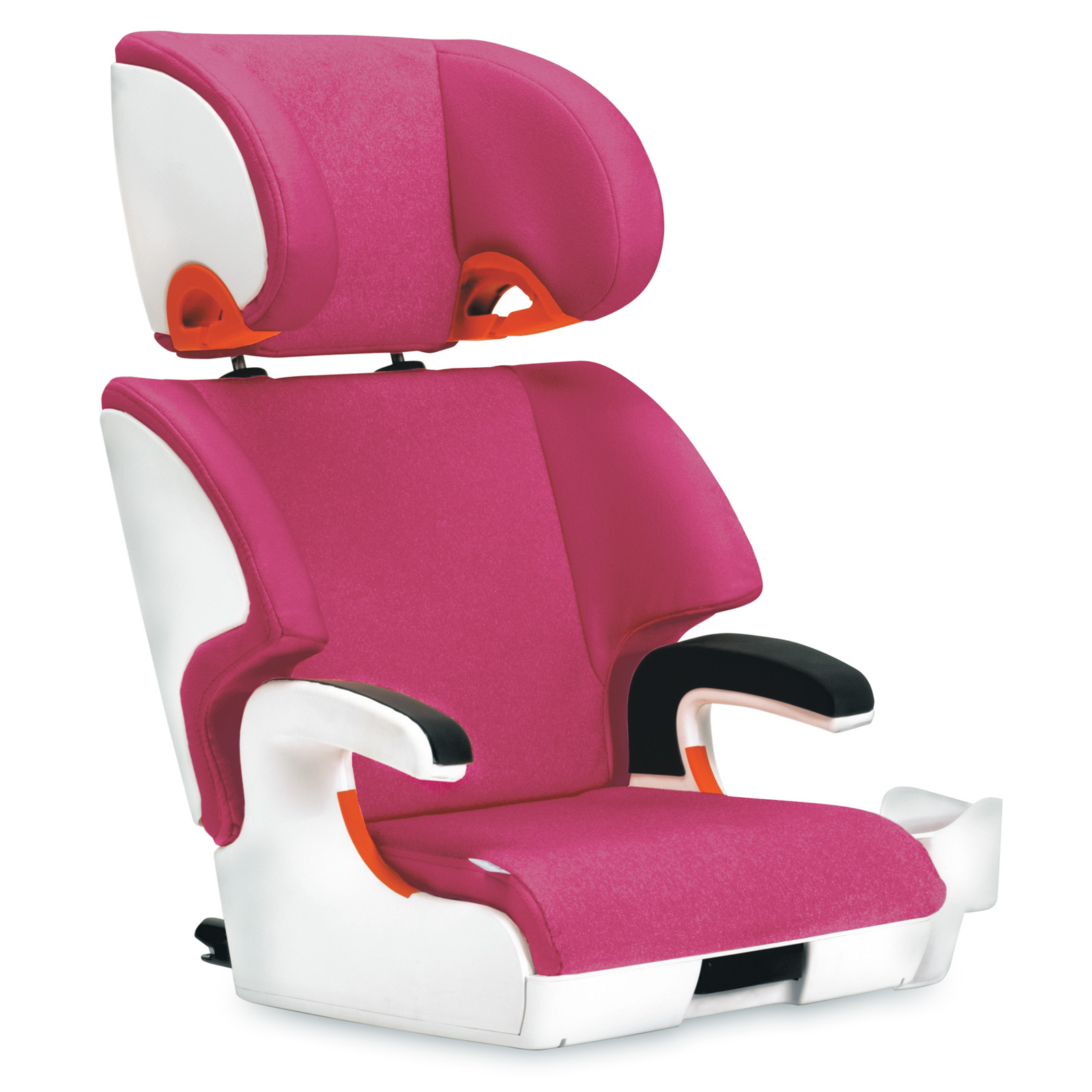 clek oobr booster car seat snowberry at hayneedle. Black Bedroom Furniture Sets. Home Design Ideas