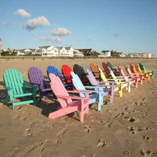 Casual Living BayFront Shoreline Adirondack Chair