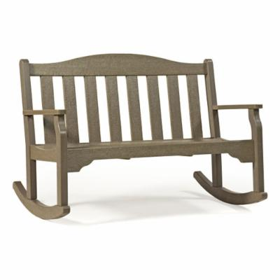 Casual Living Quest Rocking Bench - Curveback