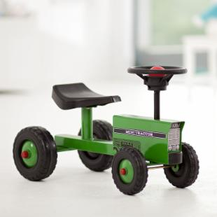 Mini Tractor Push Toy
