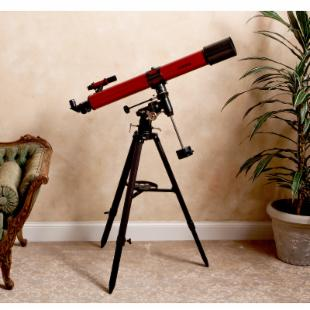 Carson Red Planet 90mm Refractor Telescope